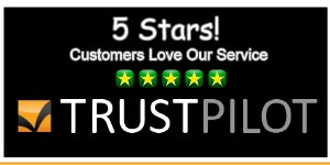 We have a 5 star rating on TrustPilot
